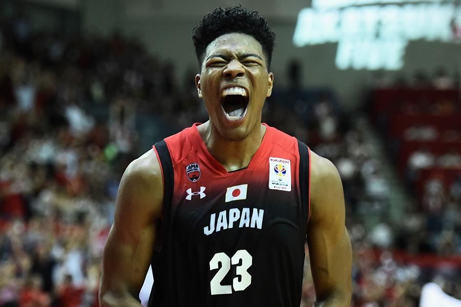 日本代表としてもプレーした八村塁【写真:Getty Images】