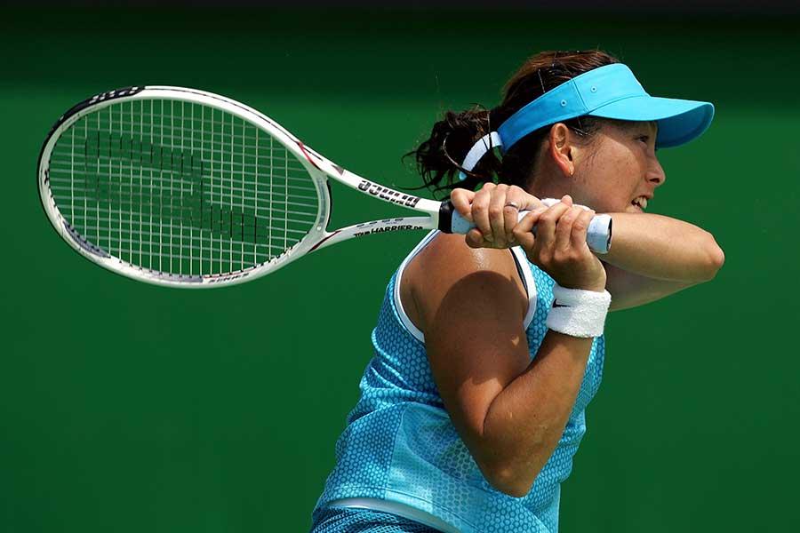 日本の女子プロテニスを牽引した杉山愛さん【写真:Getty Images】