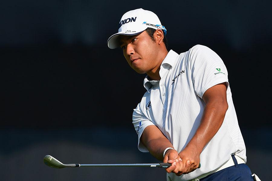 全米プロゴルフ選手権で35位となった松山英樹【写真:Getty Images】