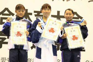 女子200メートルバタフライは西村麻亜(3年=須磨学園)が優勝【写真:編集部】