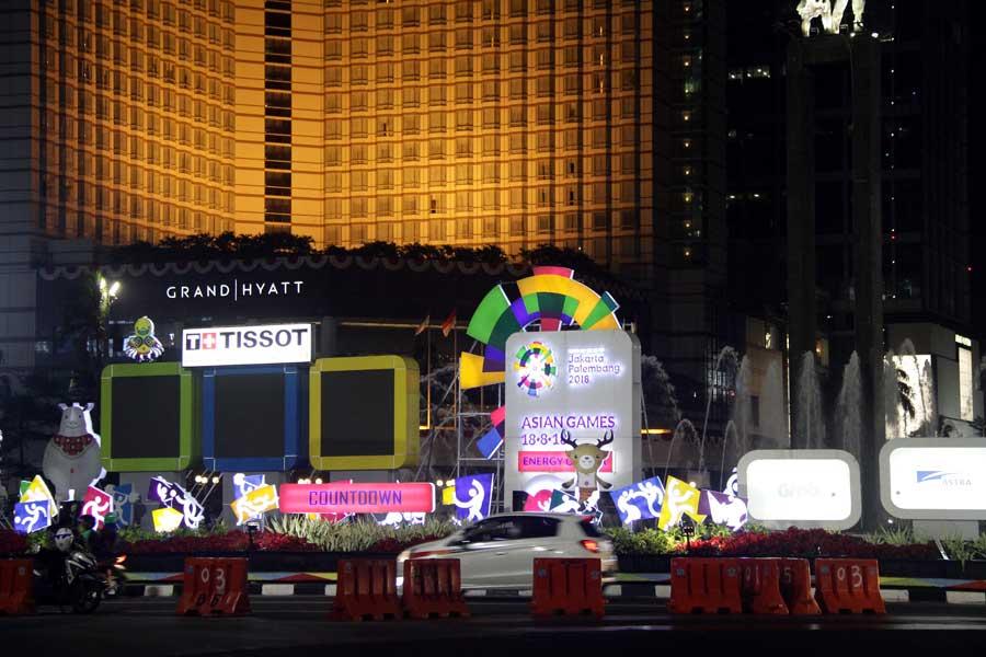 アジア大会はインドネシアの首都、ジャカルタで18日に開幕した【写真:平野貴也】
