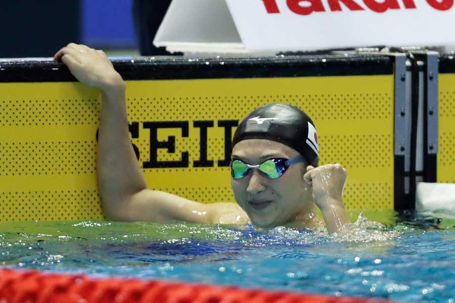 池江は早くもアジア大会3冠を達成した【写真:Getty Images】