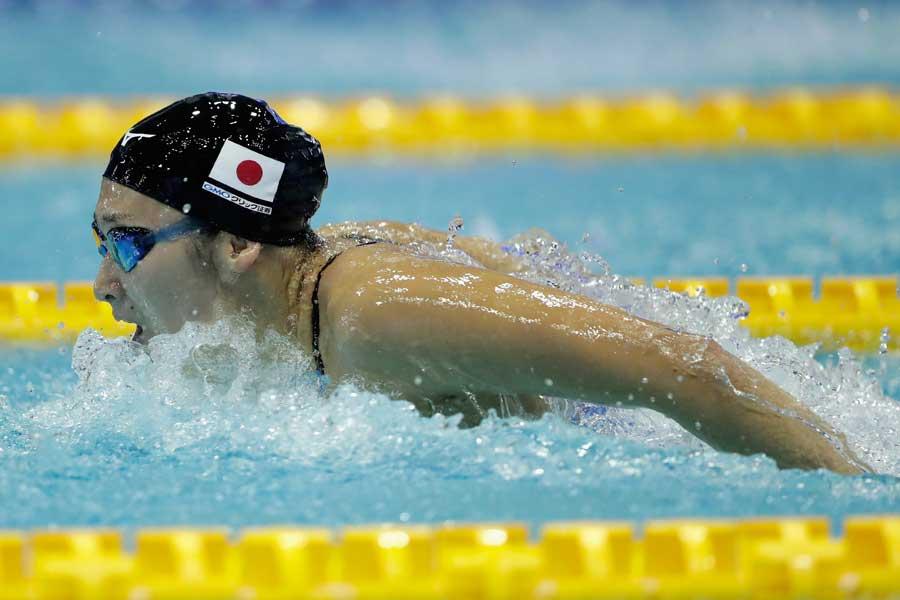 アジア大会3冠を達成した池江に伊紙も注目している【写真:Getty Images】