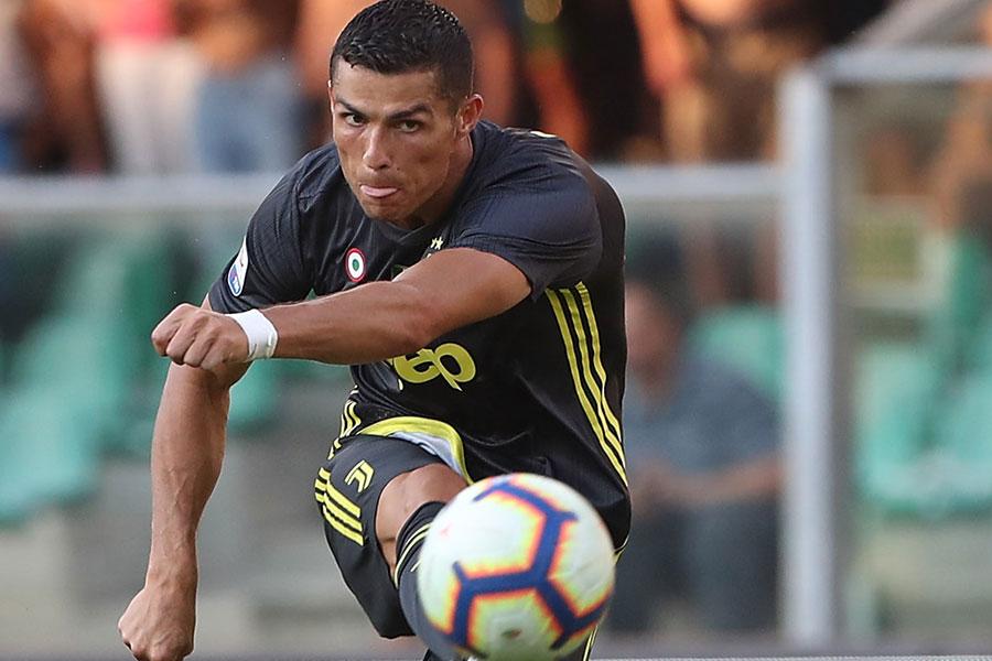 ユベントスに移籍したポルトガル代表クリスティアーノ・ロナウド【写真:Getty Images】