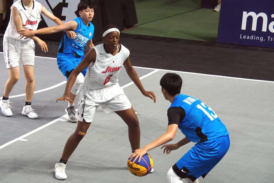 東京五輪で正式種目に採用されたバスケットボール3×3【写真:平野貴也】