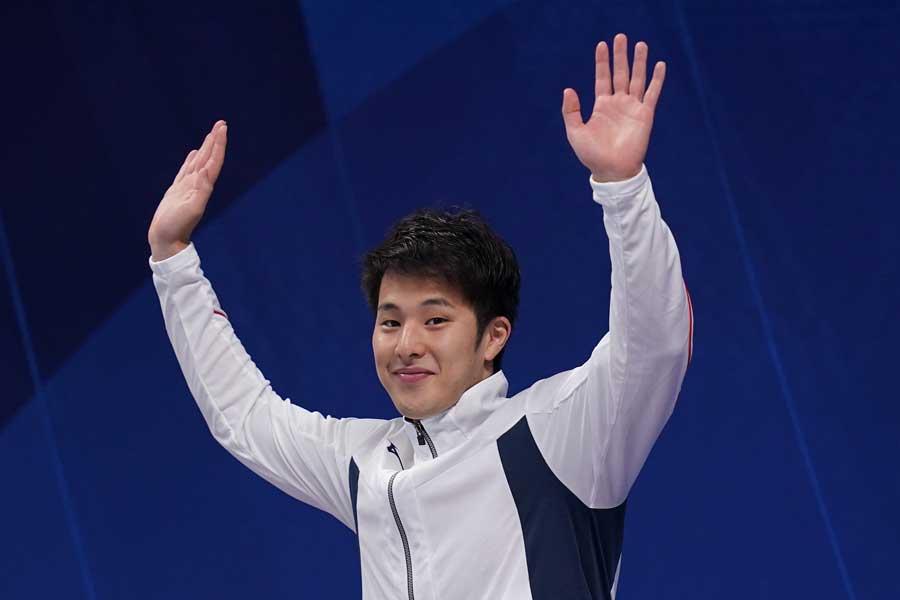 400メートル個人メドレーで瀬戸大也が金メダルを獲得した【写真:Getty Images】