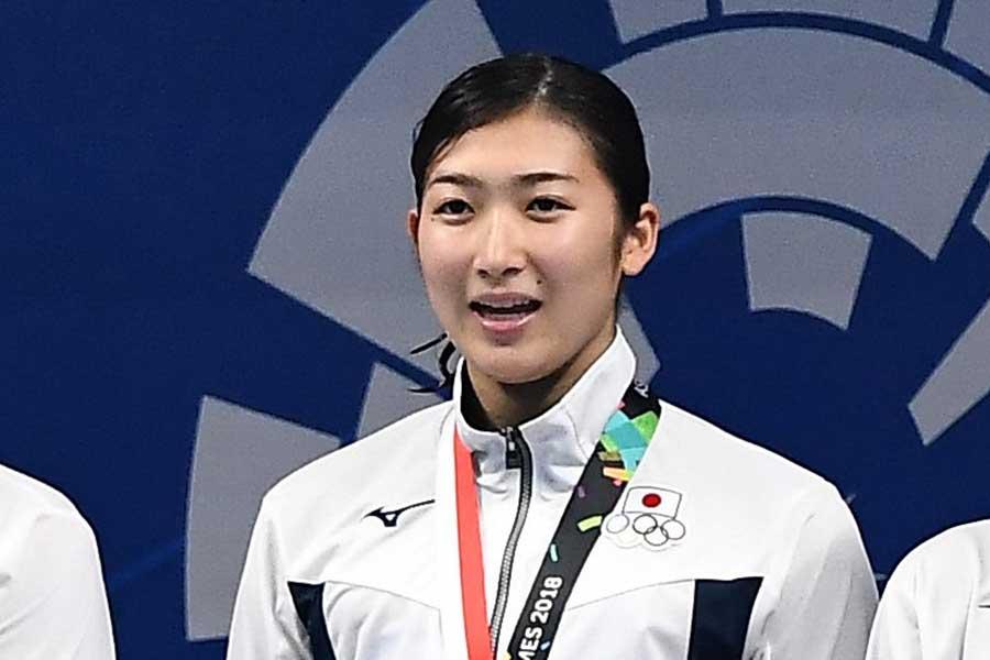 池江璃花子は今大会5冠を達成した【写真:Getty Images】