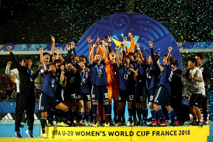 U-20女子ワールドカップで初優勝を飾ったヤングなでしこ【写真:Getty Images】