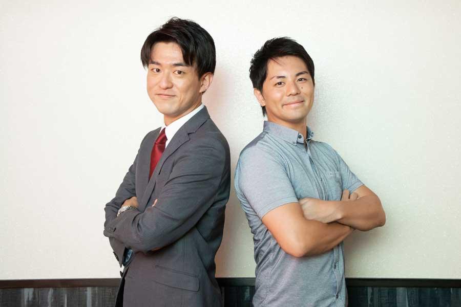 柴田さん(左)は平岩氏(右)に続き、eスポーツの世界に足を踏み入れた【写真:荒川祐史】