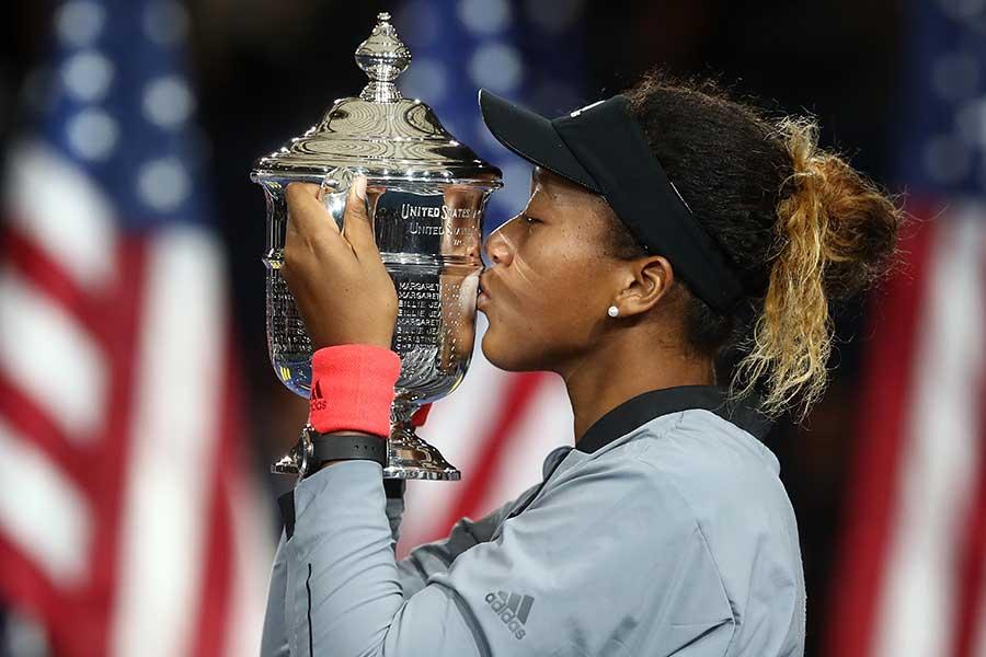 全米オープンで日本人初優勝を果たした大坂なおみ【写真:Getty Images】