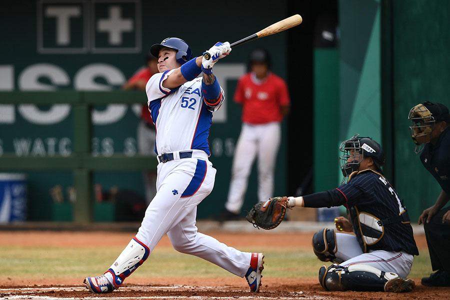 アジア大会優勝に貢献した韓国代表・朴炳鎬【写真:Getty Images】