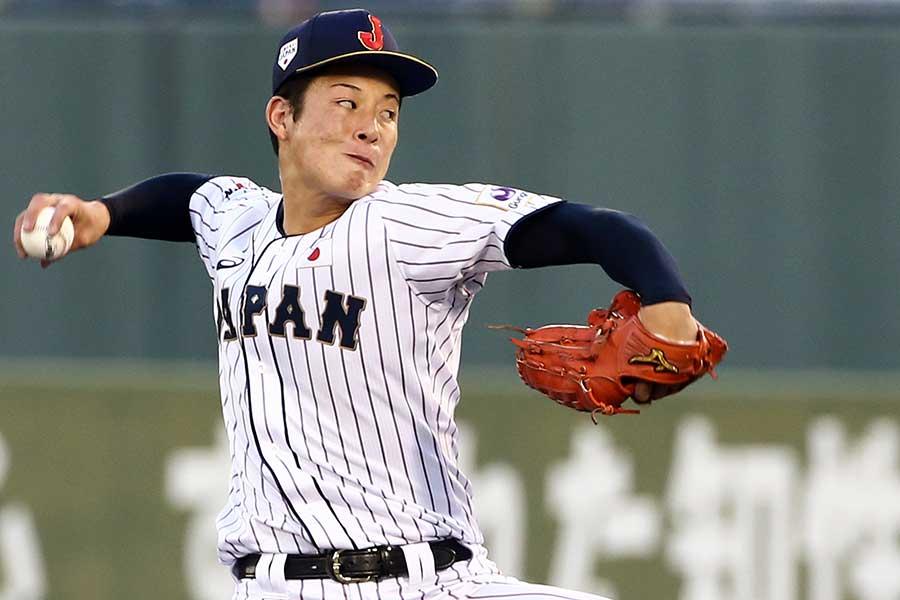 侍ジャパンU-18代表エース投手吉田輝星【写真:Getty Images】