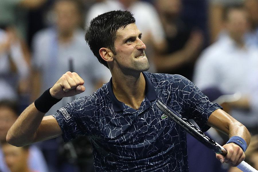 準決勝で錦織と対戦するジョコビッチ【写真:Getty Images】