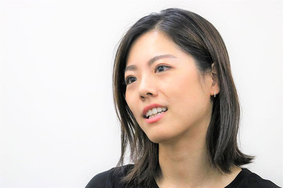 北京五輪団体代表の坪井保菜美さん【写真:編集部】