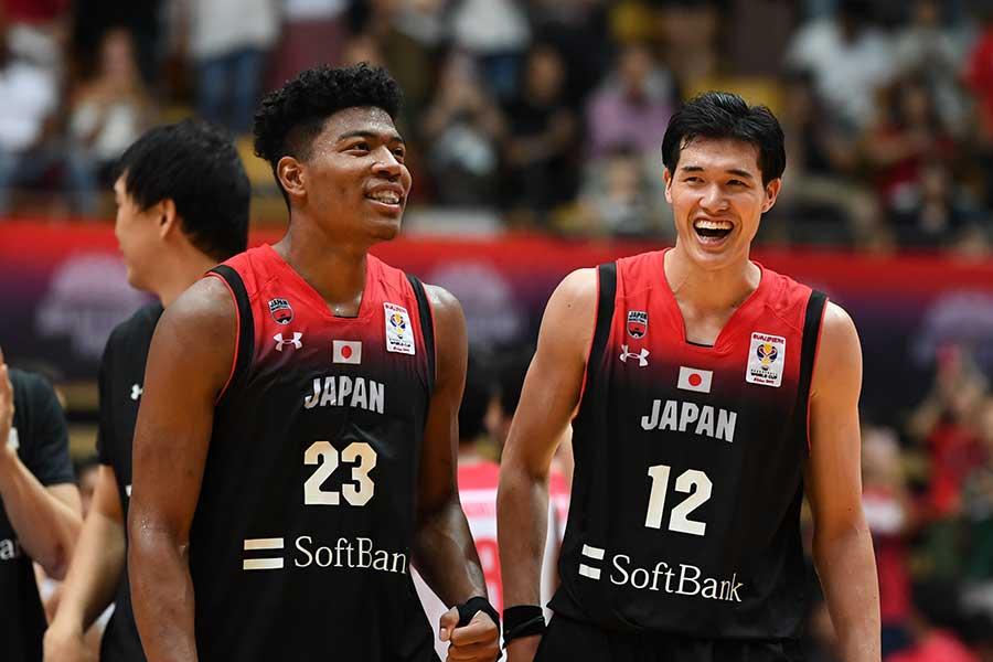 日本代表で輝きを放つ八村塁と渡辺雄太【写真:Getty Images】