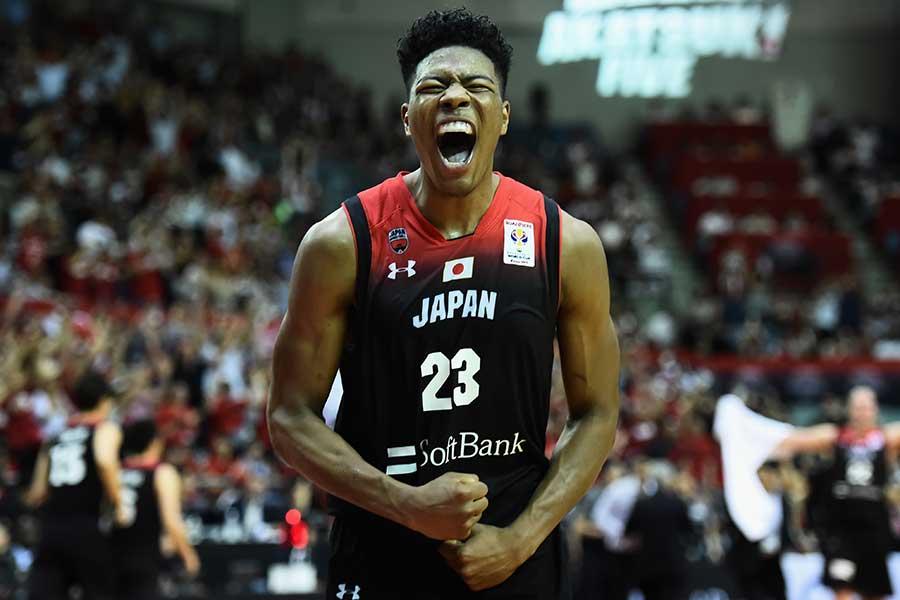日本代表で輝きを放つ八村塁【写真:Getty Images】