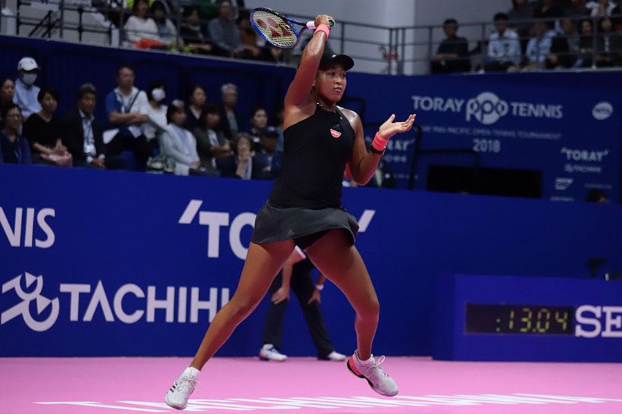 テニスの世界ランク6位・大坂なおみ【写真:荒川祐史】
