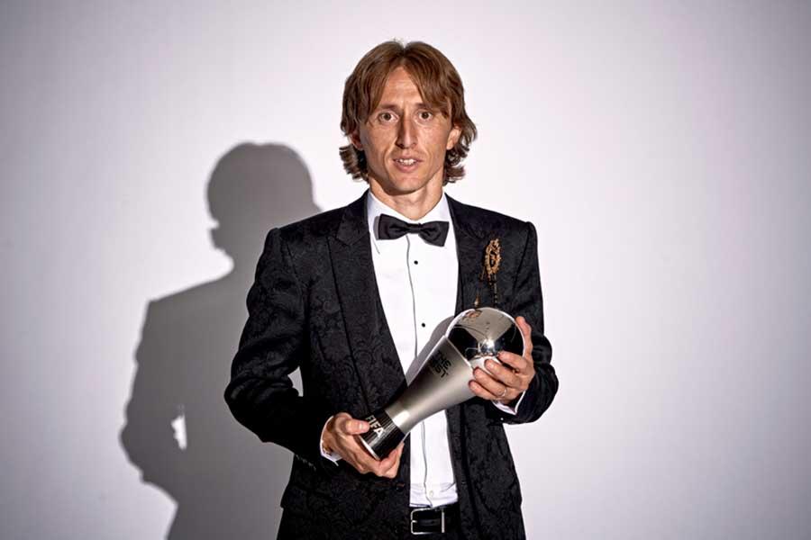 クロアチア代表MFモドリッチ【写真:Getty Images】