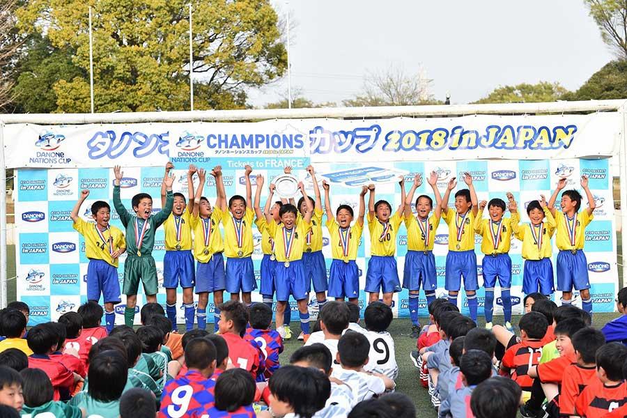 「ダノンネーションズカップ2019 in JAPAN」は予選大会の出場チームを大会公式サイトで募集している【写真提供:ダノンネーションズカップ実行委員会】
