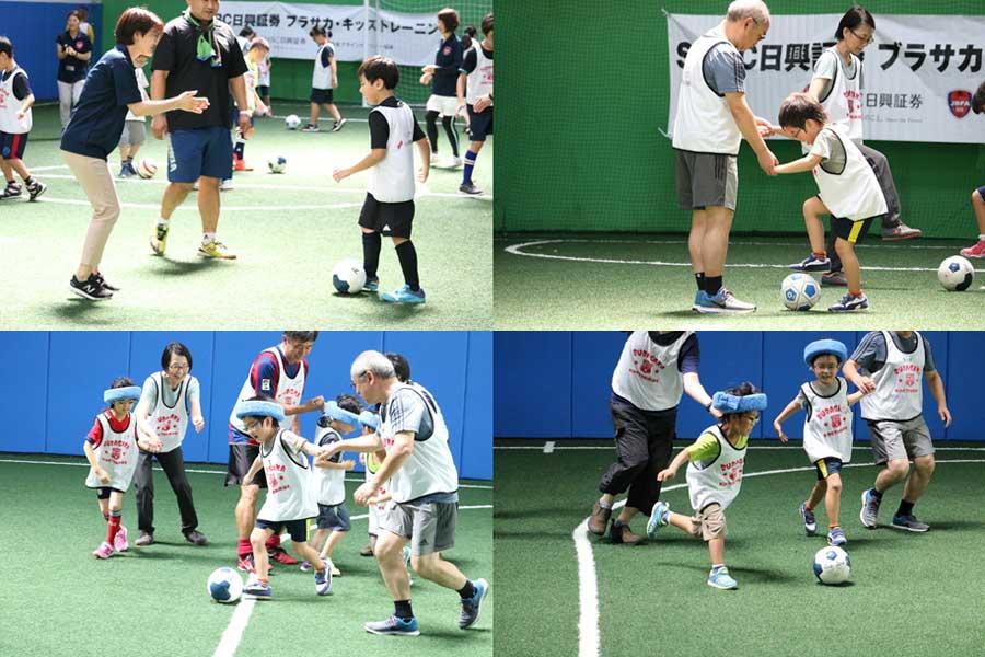 子供たちのレベルは様々だが共通するのは「スポーツを楽しもう」という姿勢だ【写真:編集部】