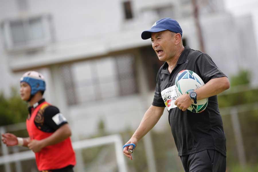 ラグビーの前日本代表ヘッドコーチ(HC)で現イングランド代表HCのエディー・ジョーンズ氏【写真:松橋晶子】
