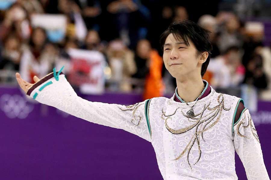 五輪で連覇を果たした羽生結弦【写真:Getty Images】
