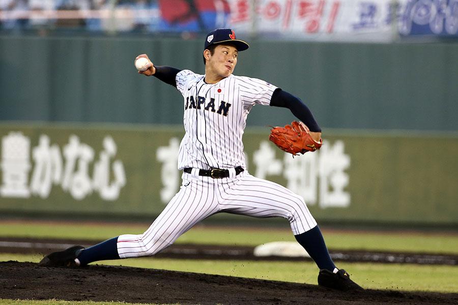侍ジャパンにも選出された金足農・吉田輝星もプロ志望届を提出【写真:Getty Images】
