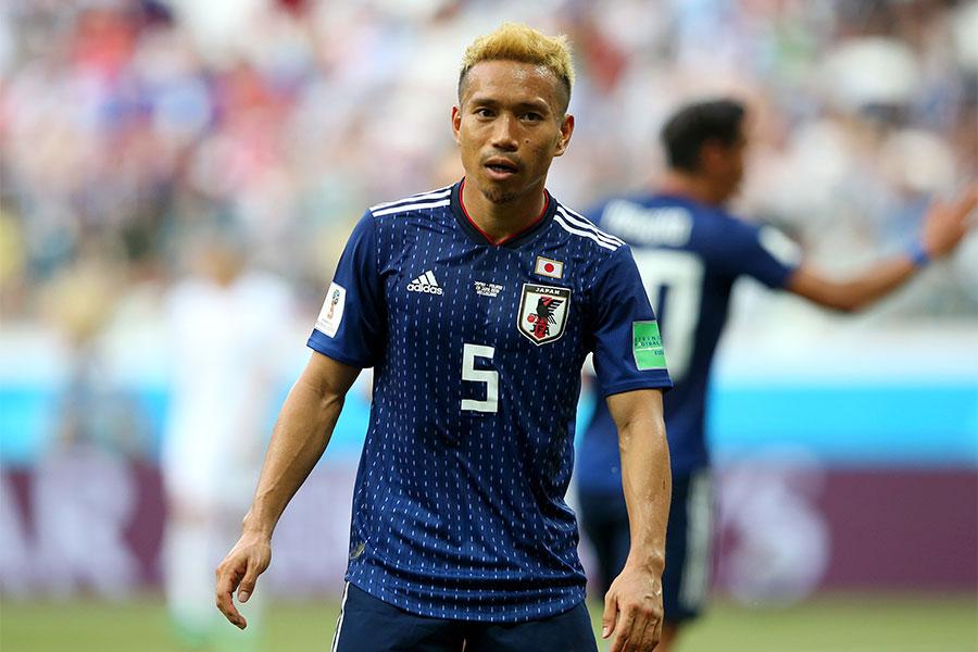 サッカー日本代表・長友佑都【写真:Getty Images】