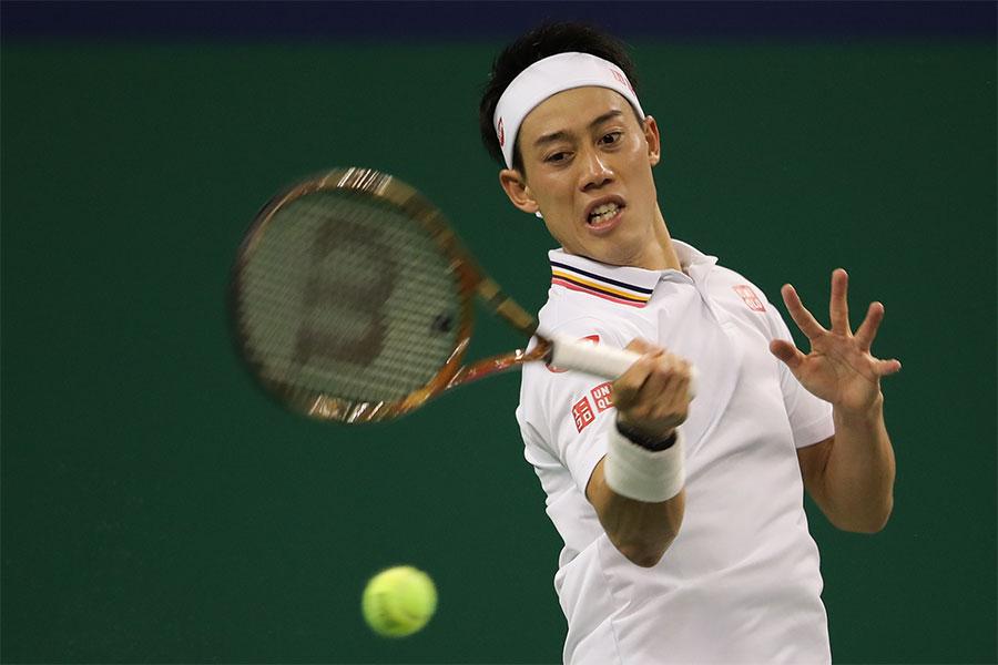 男子テニスの錦織圭【写真:Getty Images】