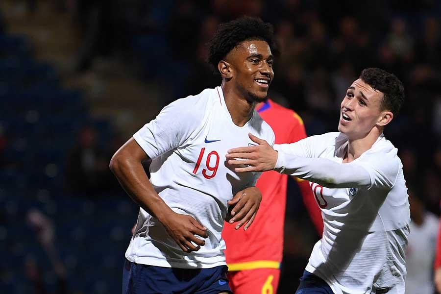 U-21イングランド代表FWリース・ネルソン【写真:Getty Images】