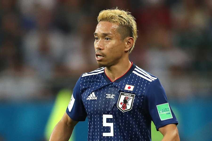 サッカー日本代表DF長友佑都【写真:Getty Images】