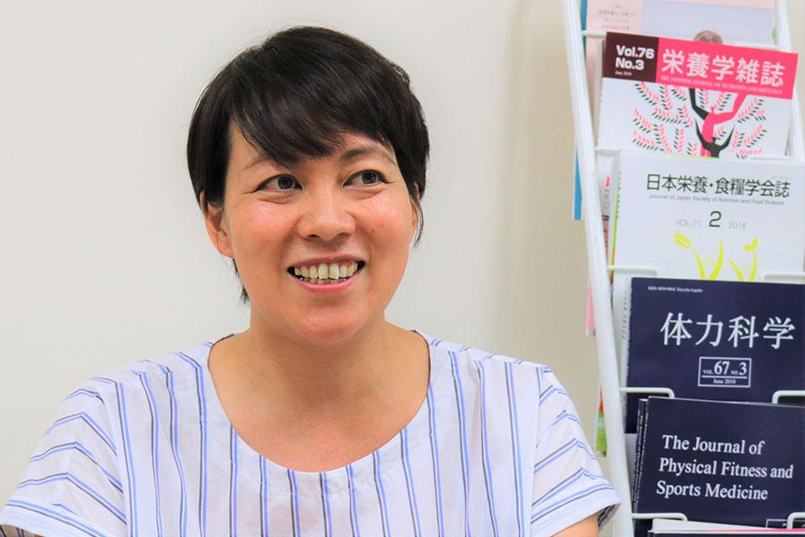 日大文理学部准教授の松本恵さん【写真:編集部】