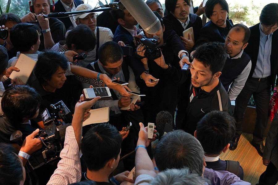 村田諒太のV2戦には日本からも多くのメディアが詰めかけている【写真:荒川祐史】