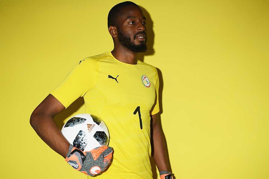 フランスリーグ1部レンヌのセネガル代表GKアブドゥライェ・ジャロ【写真:Getty Images】