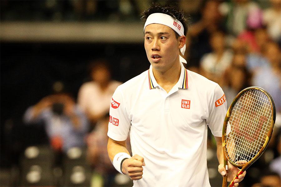 男子テニスの世界ランク11位・錦織圭【写真:Getty Images】