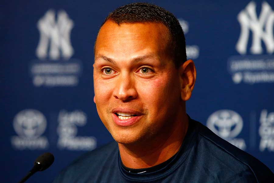 元ヤンキースのアレックス・ロドリゲス【写真:Getty Images】