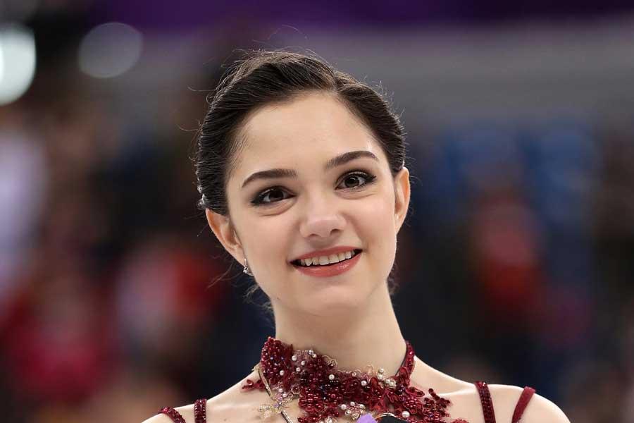 日本でも人気の高いエフゲニア・メドベージェワ【写真:Getty Images】