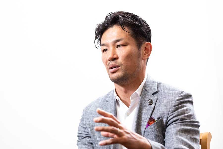 元日本代表主将の廣瀬俊朗氏【写真:松橋晶子】