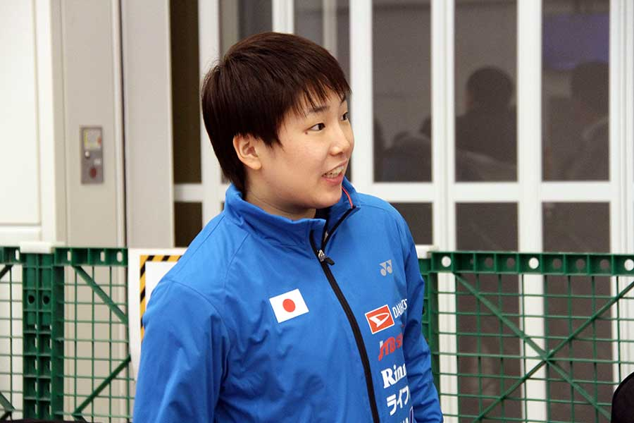 フランスオープンで優勝を飾った山口茜【写真:平野貴也】