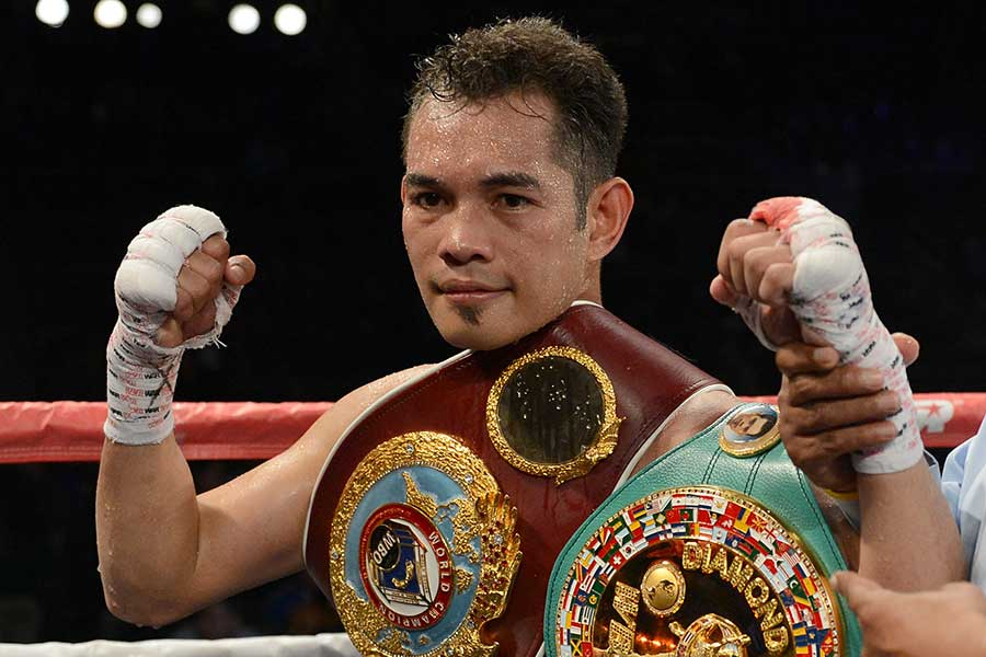 WBSS1回戦でバーネットと対戦するドネア【写真:Getty Images】