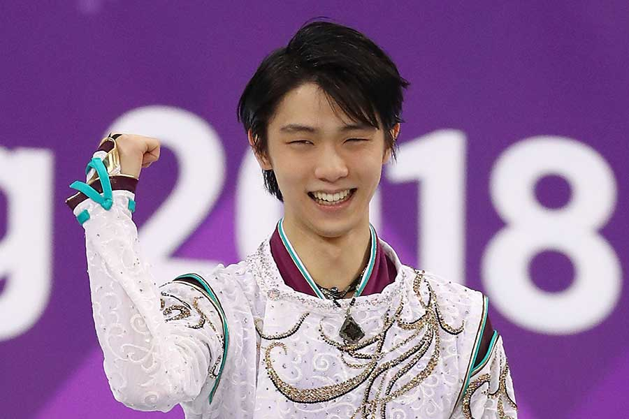五輪2連覇の羽生結弦【写真:Getty Images】