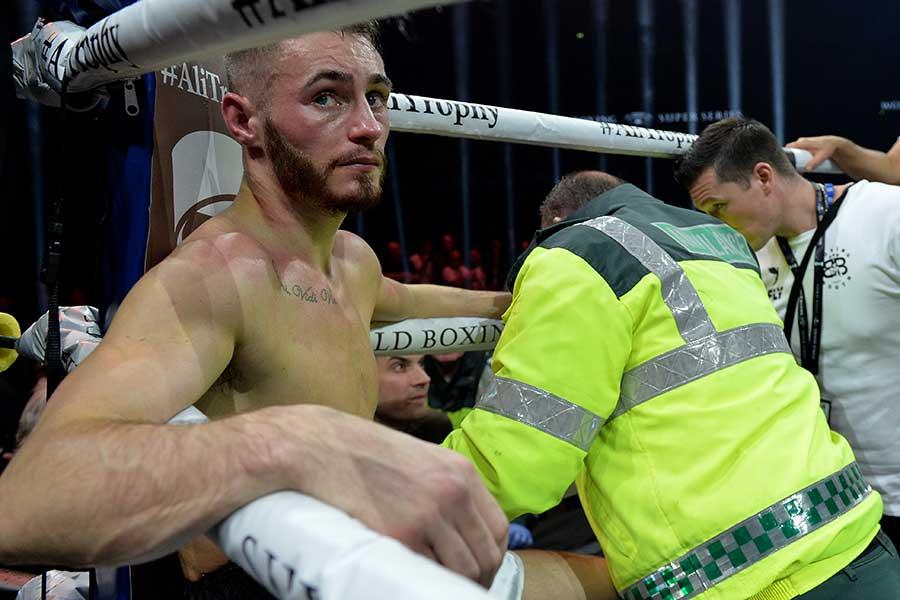WBAスーパー王者ライアン・バーネット【写真:Getty Images】