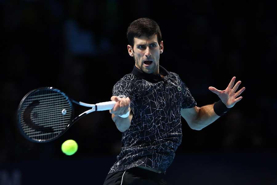 「Nitto ATPファイナルズ」で決勝に進んだジョコビッチ【写真:Getty Images】
