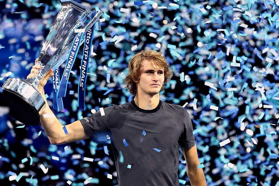 「Nitto ATPファイナルズ」で初優勝したズべレフ【写真:Getty Images】