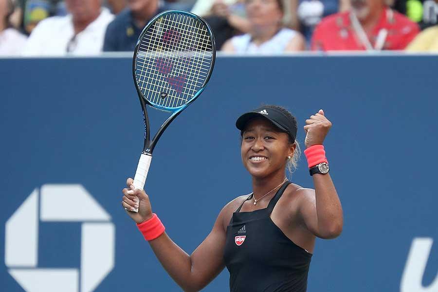 大坂の全米オープンでの試合が2018年ベスト10に選出された【写真:Getty Images】