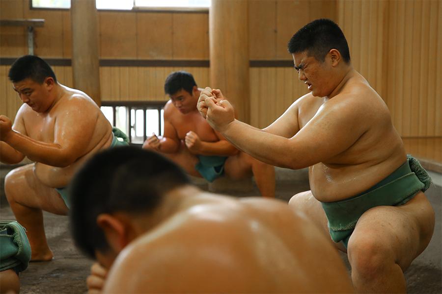 全国大会史上最多優勝を数える埼玉栄相撲部の強さの理由とは【写真:荒川祐史】