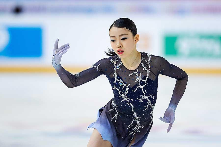 GPファイナルに出場する紀平【写真:Getty Images】