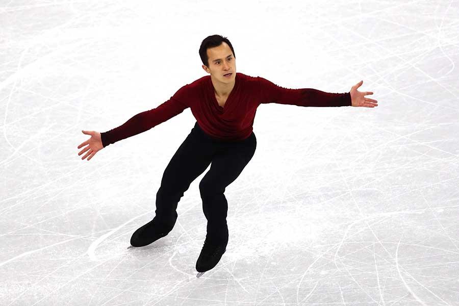 世界選手権3度優勝のパトリック・チャン【写真:Getty Images】