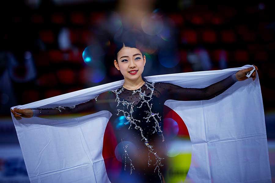 GPファイナルで金メダル獲得が期待される紀平【写真:Getty Images】