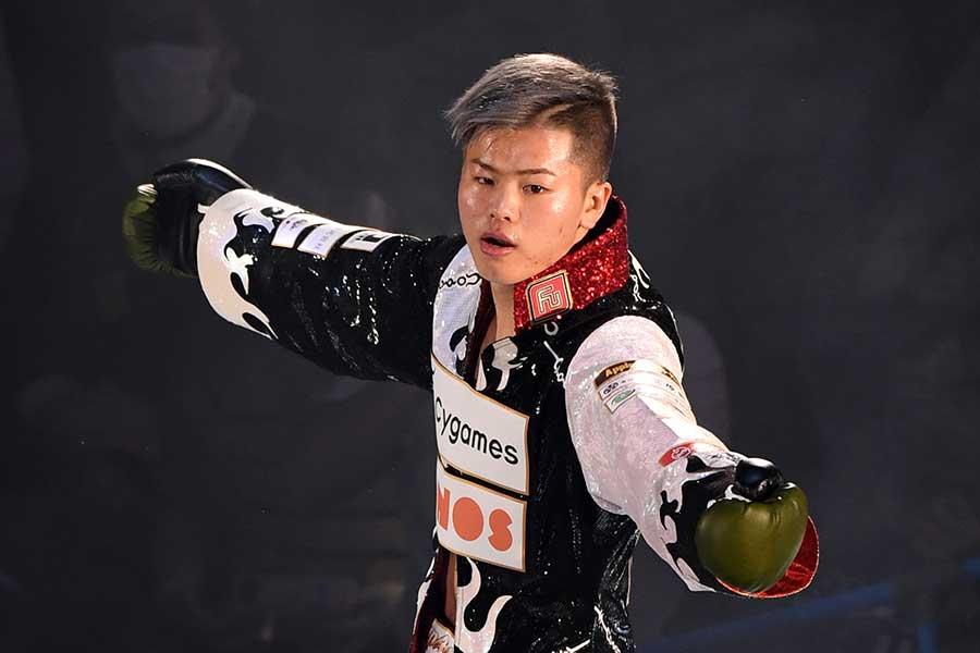 メイウェザー戦へ向けて調整中の那須川天心【写真:Getty Images】